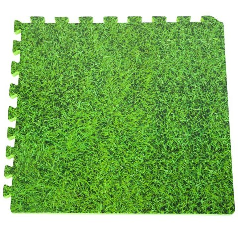 zielona mata pod basen